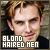  Blond-haired men