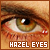  Hazel eyes
